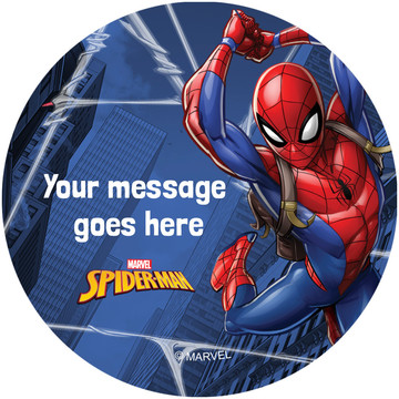 Spider-Man Personalized Stickers (Sheet of 12)