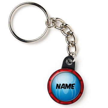 "Spider Personalized 1"" Mini Key Chain (Each)"