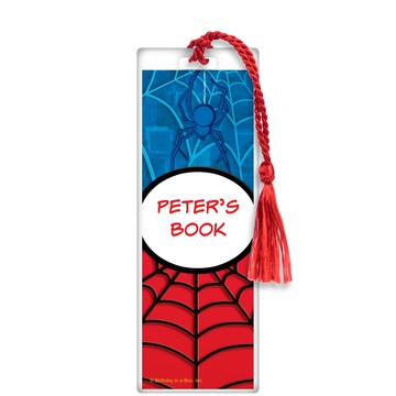 Spider Personalized Bookmark (each)