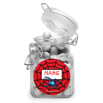 Spider Personalized Glass Apothecary Jars (12 Count)