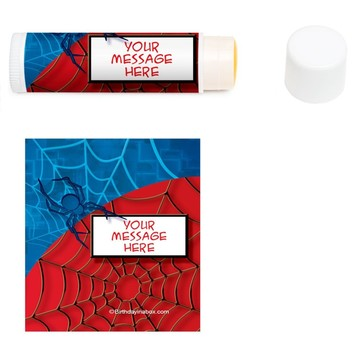 Spider Personalized Lip Balm (12 Pack)