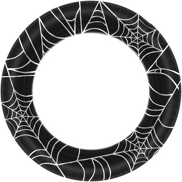"""Spider Web 10"""" Plate (40)"""
