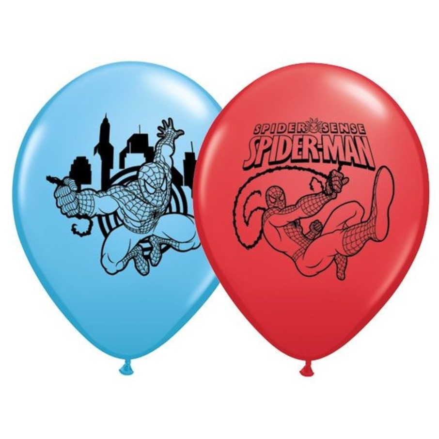 """View larger image of Spiderman 12"""" Latex Balloons (6 Pack)"""