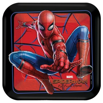 Spiderman Far From Home Lunch Plates (8)