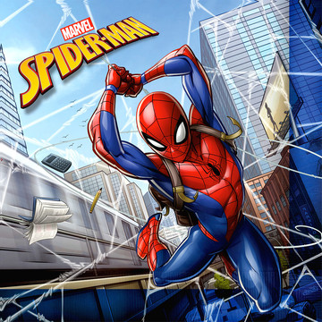 Spiderman Lunch Napkin (20)