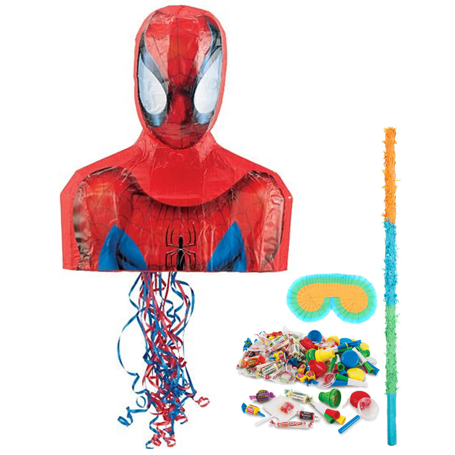 View larger image of Spiderman Pinata Kit