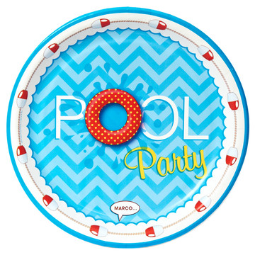 Splashin' Pool Party Dinner Plates