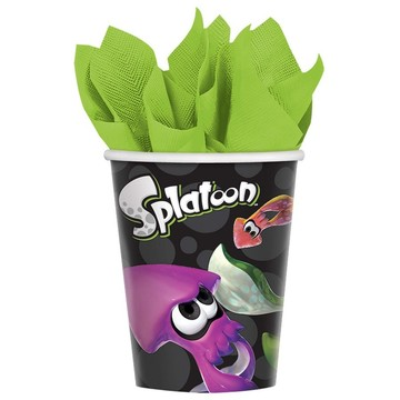 Splatoon 9oz Paper Cups (8)