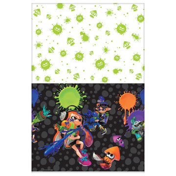 Splatoon Paper Table Cover (1)