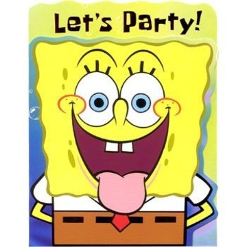 SpongeBob Invitations (8-pack)