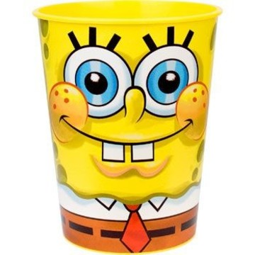 SpongeBob Plastic Party Cup (each)