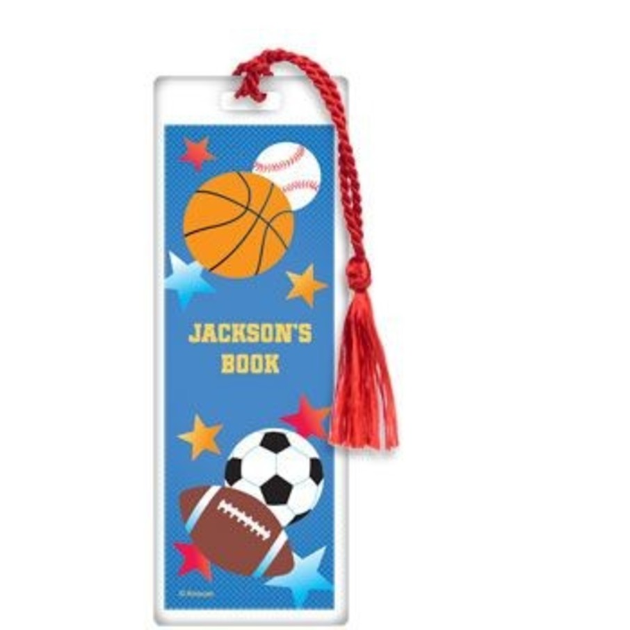 View larger image of Sports Birthday Personalized Bookmark (each)