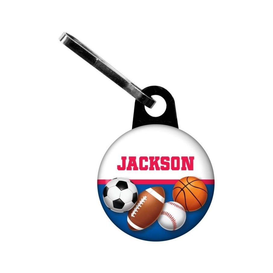 View larger image of Sports Birthday Personalized Mini Zipper (each)