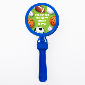 Sports Party Personalized Clappers (Set of 12)