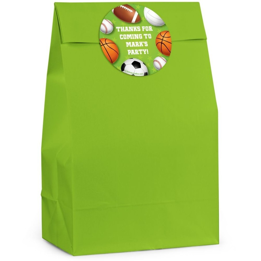 View larger image of Sports Personalized Favor Bag (Set Of 12)
