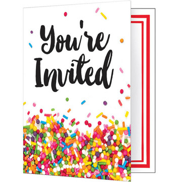Sprinkles Folded Invitation (8)