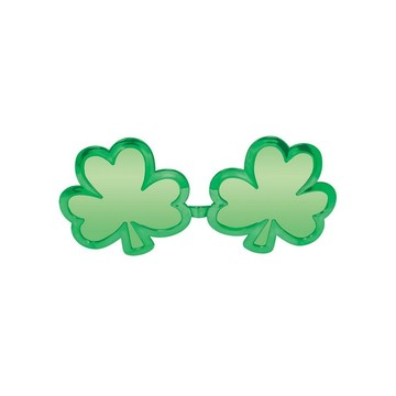 St. Patrick's Day Shamrock Shaped Sunglasses