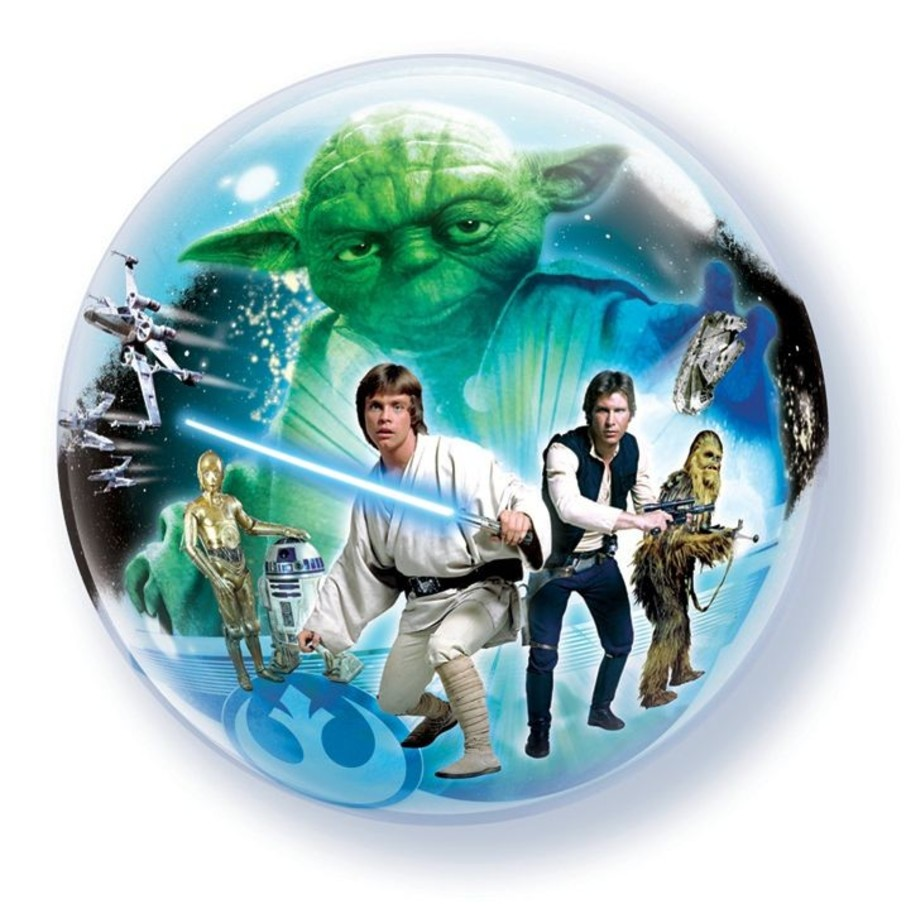 """View larger image of Star Wars 22"""" Bubble Balloon"""