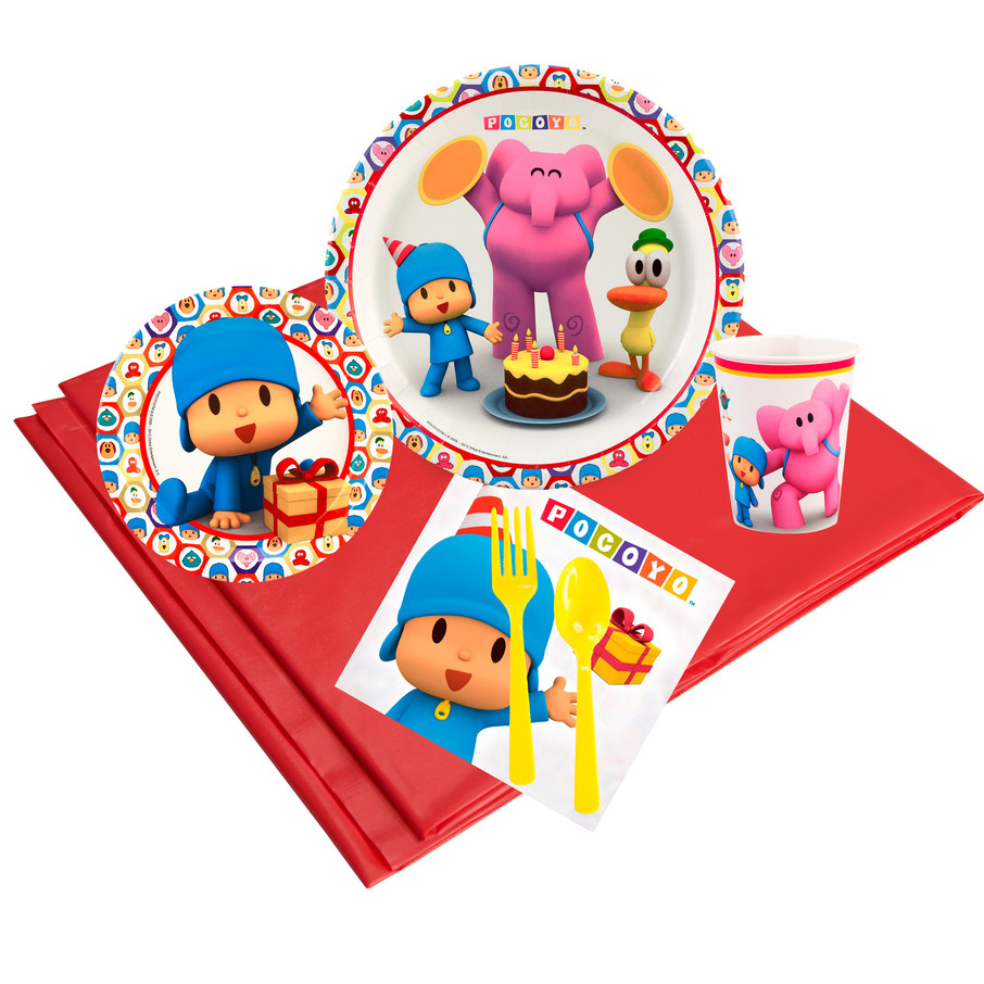 View larger image of Pocoyo 24 Guest Party Pack