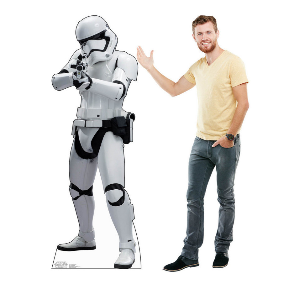 View larger image of Star Wars 7 The Force Awakens Stormtrooper Standup - 6' Tall
