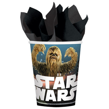 Star Wars Classic 9oz Paper Cups (8 Count)