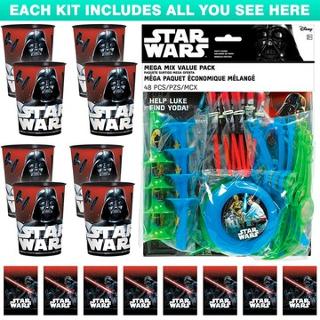 Star Wars Classic Favor Kit (For 8 Guests)