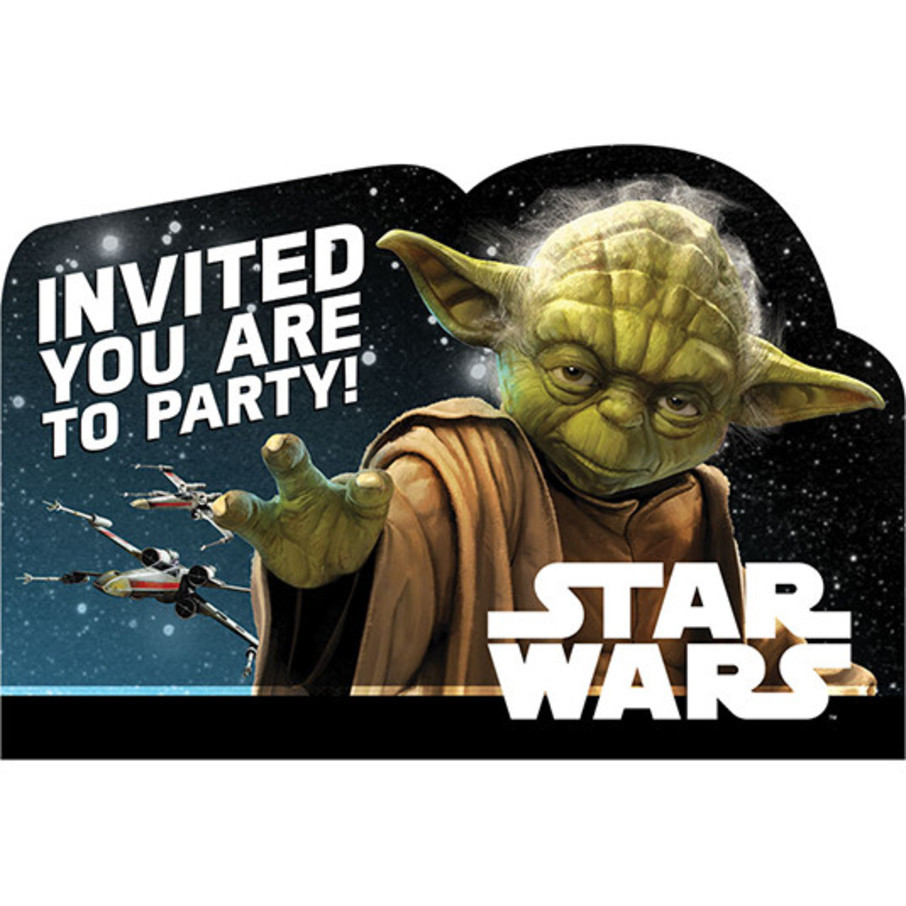 View larger image of Star Wars Classic Invitations (8)