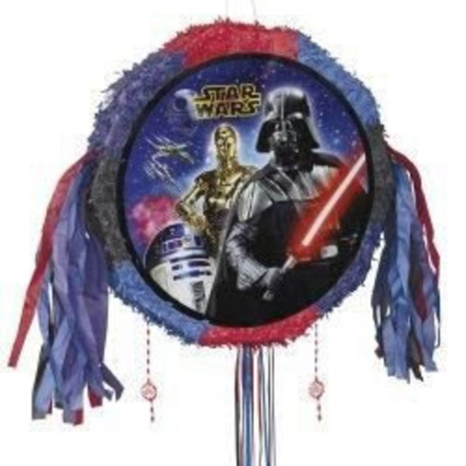 View larger image of Star Wars Drum Pull Pinata (Each)