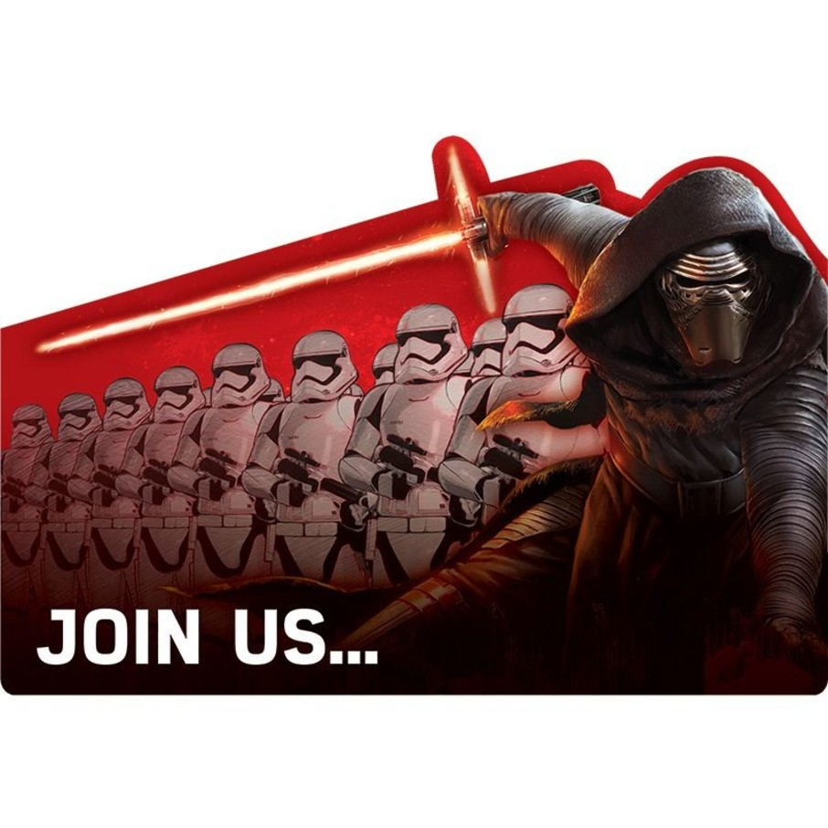 View larger image of Star Wars EP Vll Invitations (8 Pack)