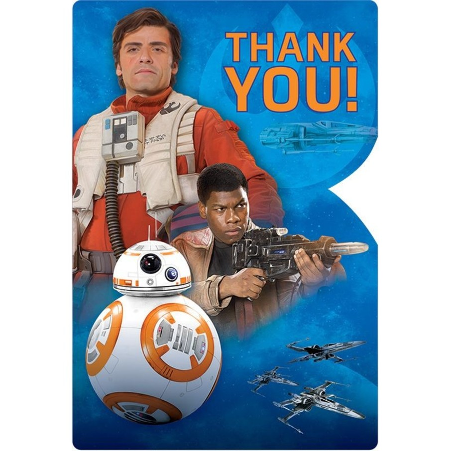 View larger image of Star Wars EP Vll Thank You Cards