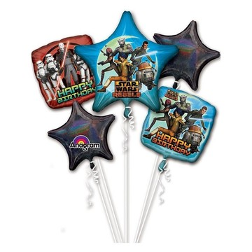 Star Wars Rebels Balloon Bouquet (Each)