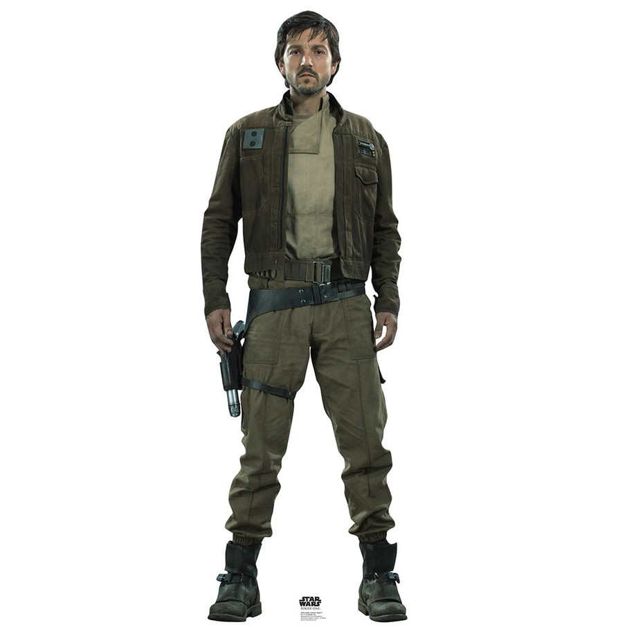 View larger image of Star Wars Rogue One Captain Cassian Cardboard Standup