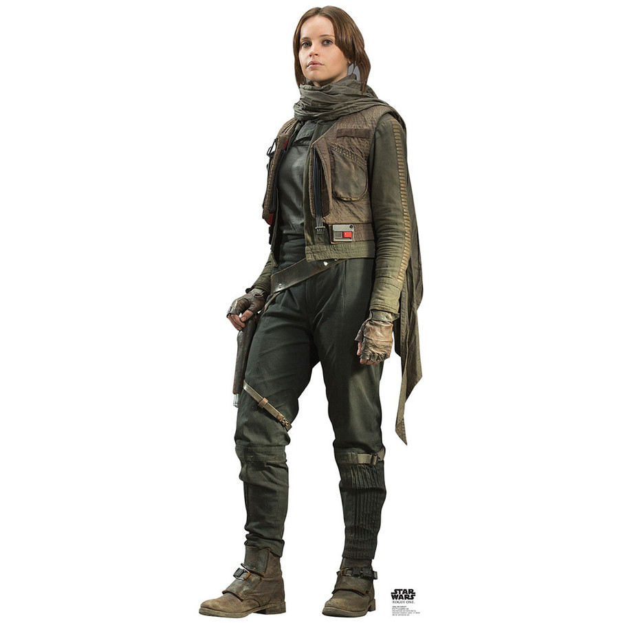 View larger image of Star Wars Rogue One Jyn Erso Cardboard Standup
