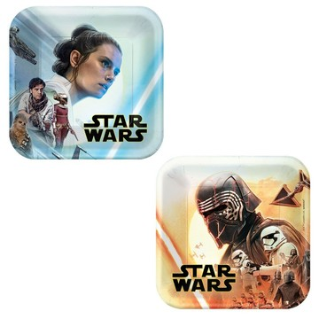 Star Wars: The Rise of Skywalker Assorted Dessert Plates (8)
