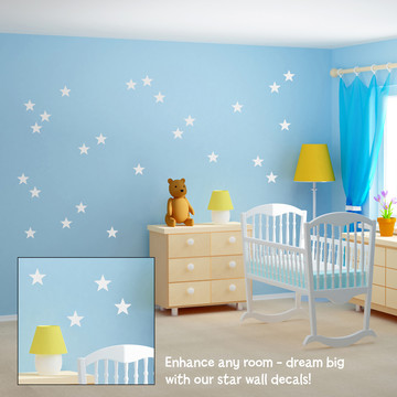 Stars - Giant Wall Decals