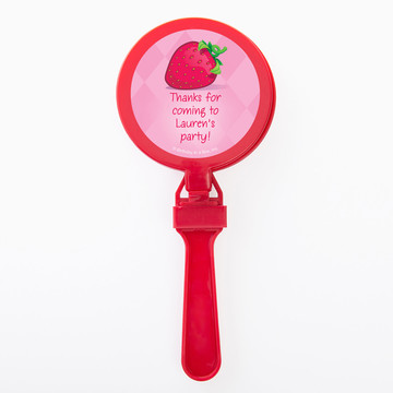 Strawberry Friends Personalized Clappers (Set of 12)