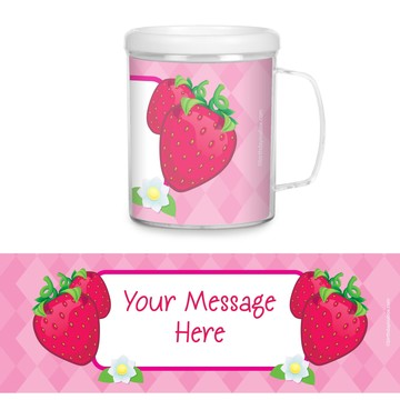 Strawberry Friends Personalized Favor Mugs (Each)