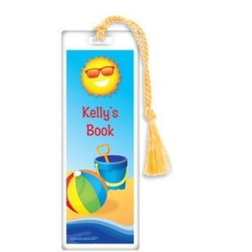 Summer Fun Personalized Bookmark (each)