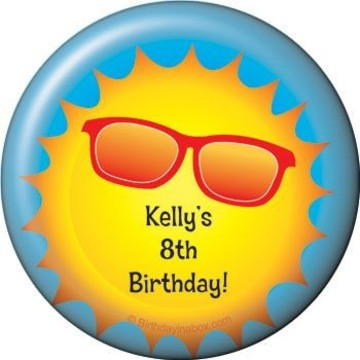 Summer Fun Personalized Magnet (each)