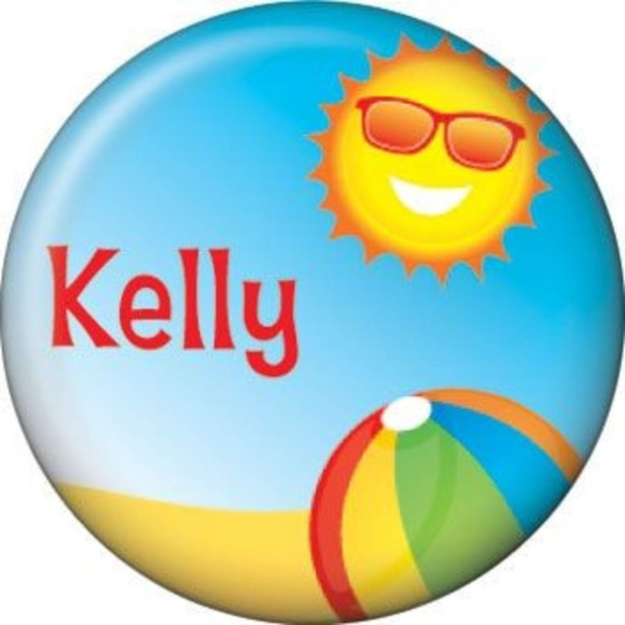 View larger image of Summer Fun Personalized Mini Button (each)
