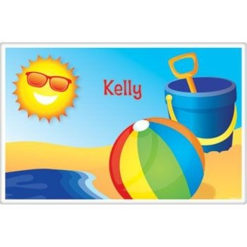 Summer Fun Personalized Placemat (each)
