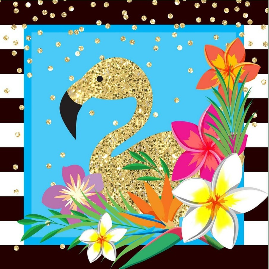 View larger image of Summer Paradise Sparkle Lunch Napkin (16)