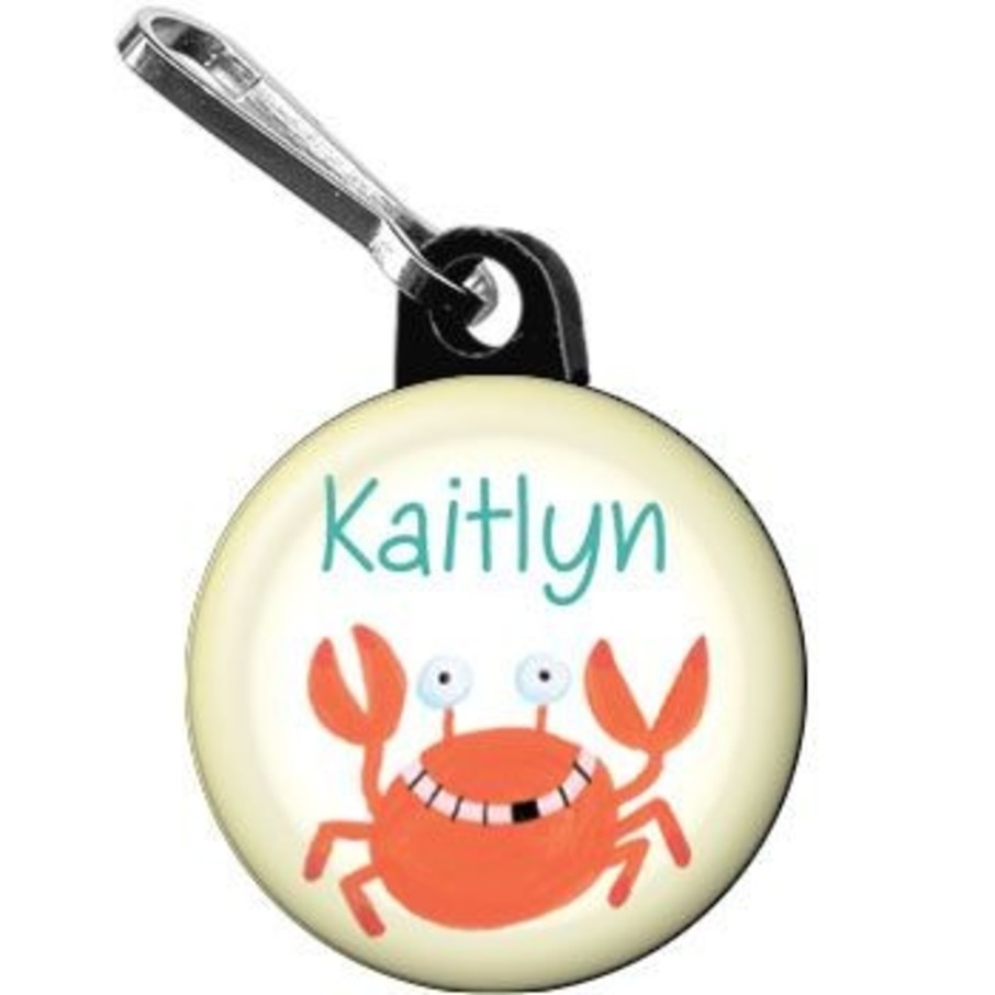 View larger image of Summer Treats Personalized Mini Zipper Pull (each)