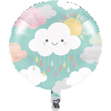 "Sunshine Baby Showers 18"" Metallic Balloon"