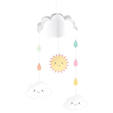 Sunshine Baby Showers Hangin Mobile with Cutouts