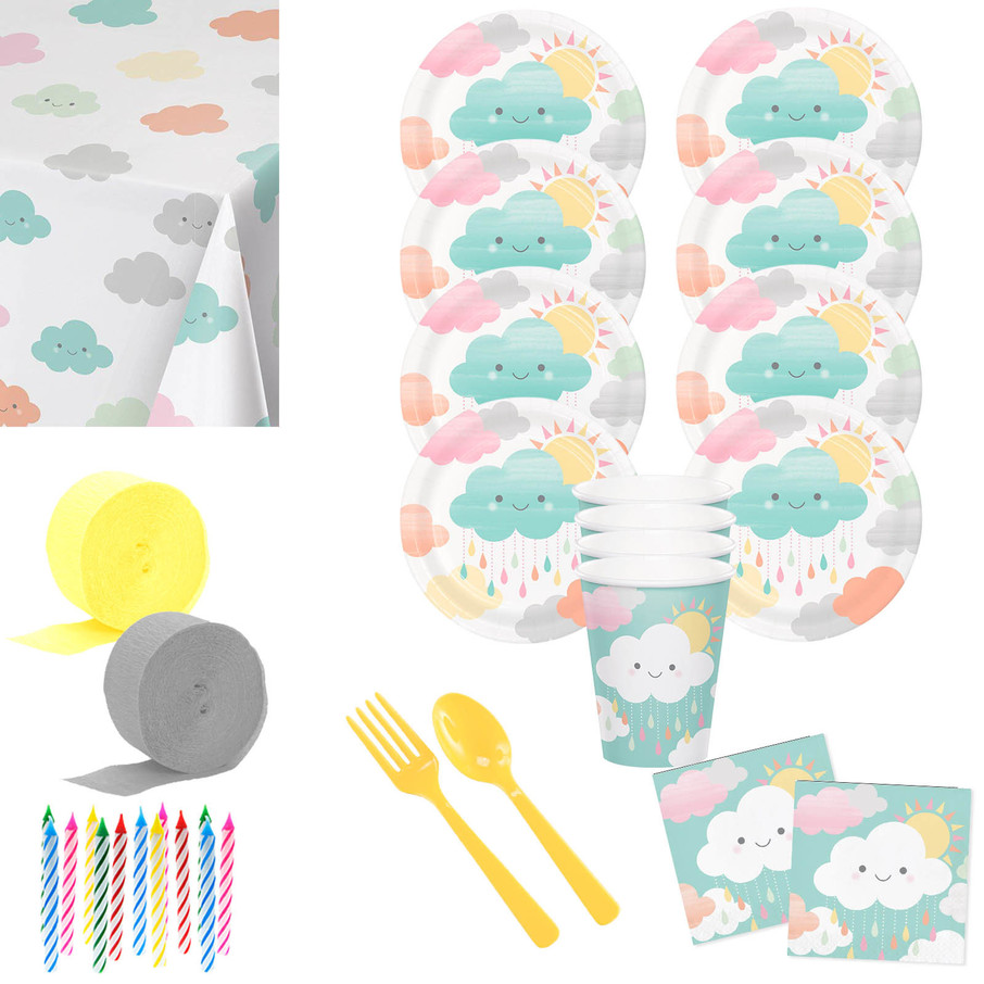 View larger image of Sunshine Deluxe Tableware Kit (Serves 8)