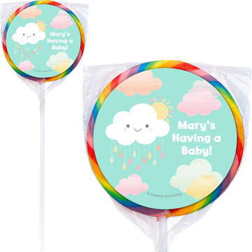 Sunshine Showers Personalized Lollipops (12 Pack)