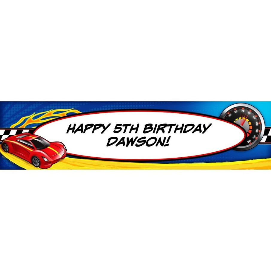 View larger image of Super Charged Personalized Banner (Each)