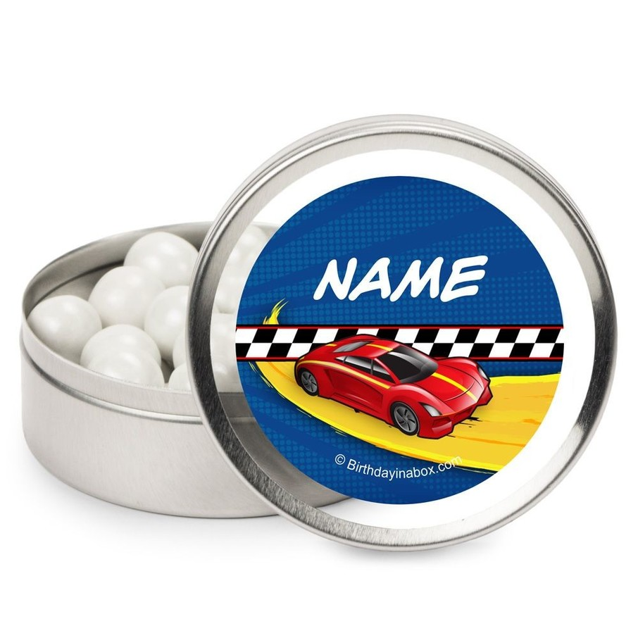 View larger image of Super Charged Personalized Candy Tins (12 Pack)