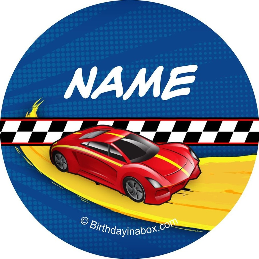 View larger image of Super Charged Personalized Mini Stickers (Sheet of 24)